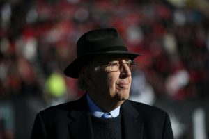 Las Vegas, NV - December 17, 2016 - Sam Boyd Stadium: Brent Musburger during the 2016 Las Vegas Bowl (Photo by Gabriel Christus / ESPN Images)